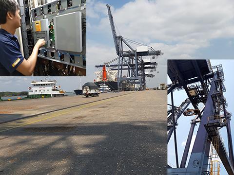 Dự án nâng cấp cẩu bờ 45 tấn