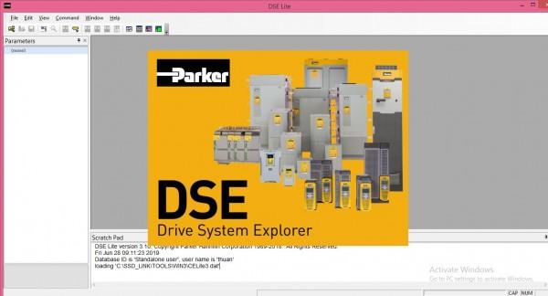 Upload và Download chương trình cho Biến tần, Drive Parker