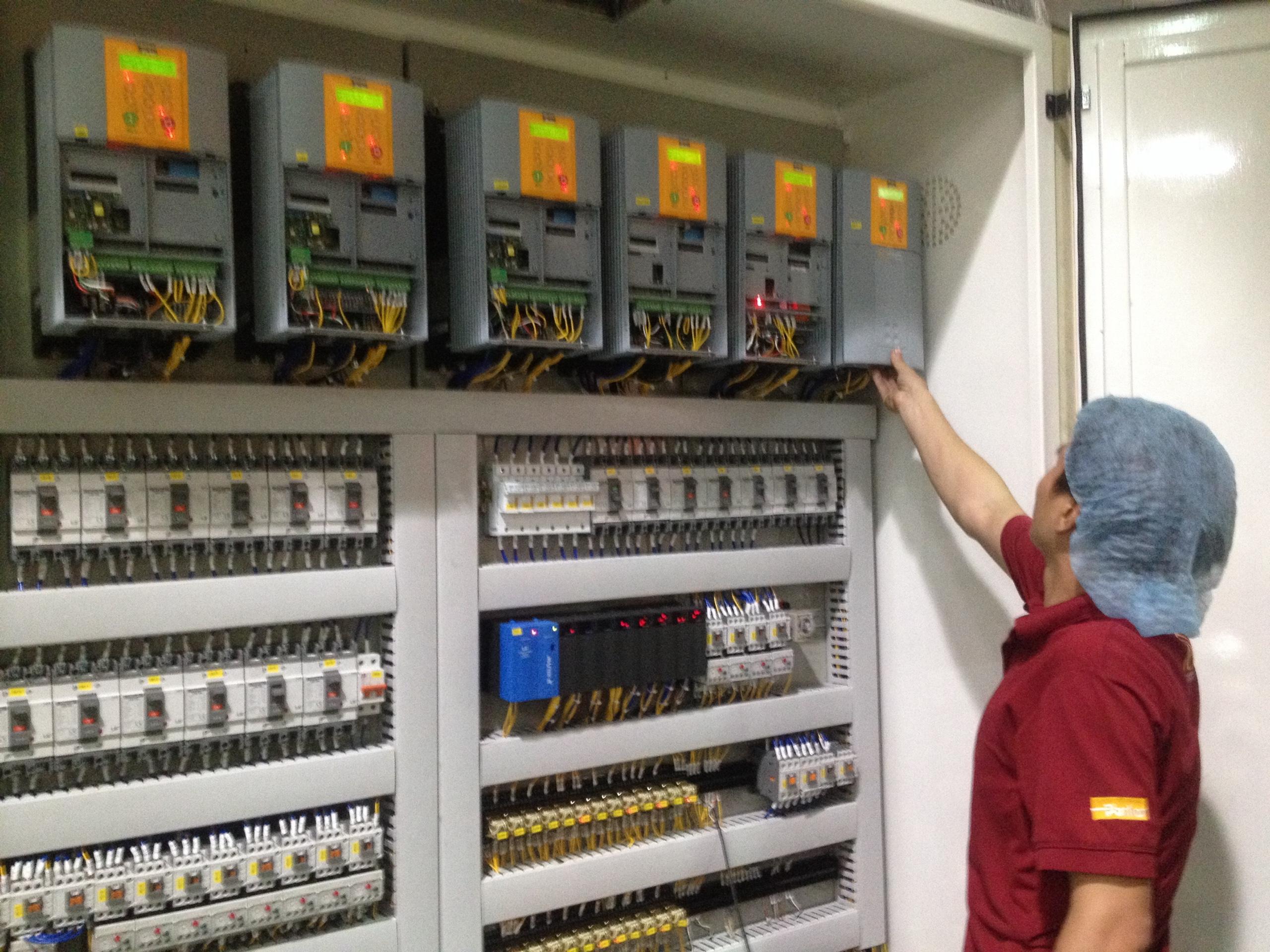 Ứng dụng DC590 trong ngành sản xuất Cáp điện