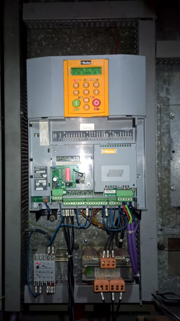 DC598/599 External Stack- BỘ ĐIỀU KHIỂN ĐỘNG CƠ MỘT CHIỀU ĐIỀU KHIỂN CÔNG SUẤT BÊN NGOÀI